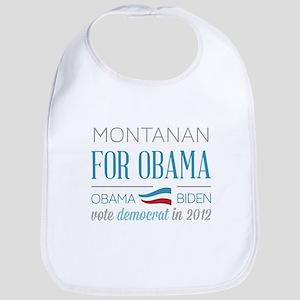 Montanan For Obama Bib