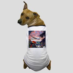 Paradise Flight Dog T-Shirt