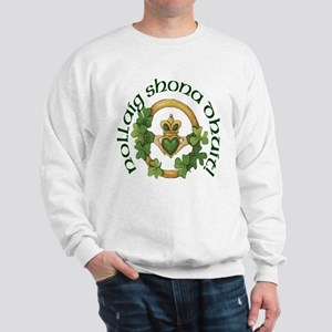 Gaelic Greetings Claddagh Sweatshirt