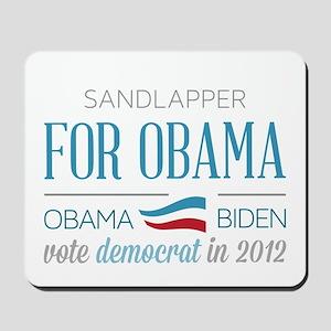 Sandlapper For Obama Mousepad