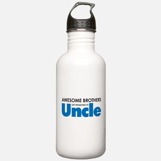 Cute New uncle Water Bottle