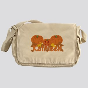 Halloween Pumpkin Kathleen Messenger Bag