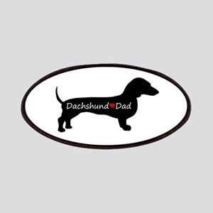 Dachshund Dad Patches
