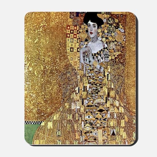 Adele Gustav Klimt Mousepad