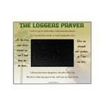 The Logger's Prayer Picture Frame