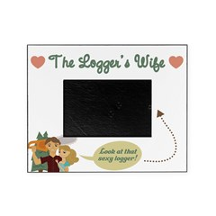 Sexy Logger Picture Frame