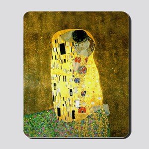 The Kiss Gustav Klimt Mousepad