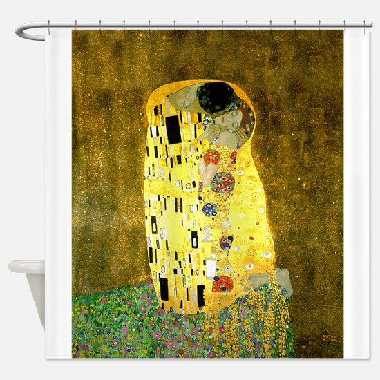 The Kiss Gustav Klimt Shower Curtain