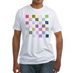 Rainbow Quilt Fitted T-Shirt