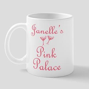Janelle's Pink Palace Mug