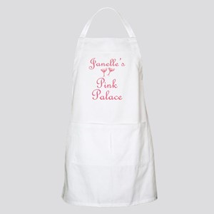 Janelle's Pink Palace BBQ Apron