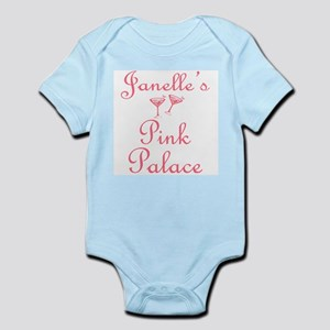 Janelle's Pink Palace Infant Creeper