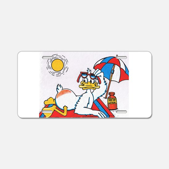 Summer Vacation/Fun Humor Aluminum License Plate