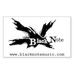 Black Note Sticker