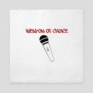 MC Weapon of Choice Microphone Queen Duvet