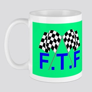 FTF green flag Mug