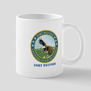 Fort Belvoir with Text Mug