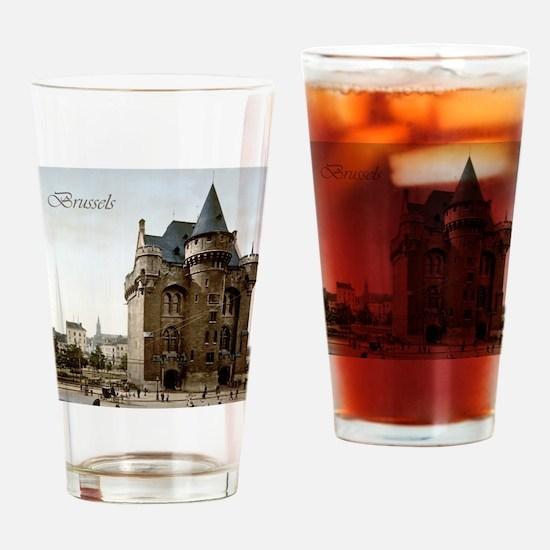 Vintage Brussels Porte de Hall Drinking Glass