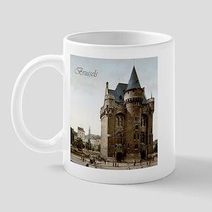 Vintage Brussels Porte de Hall Mug