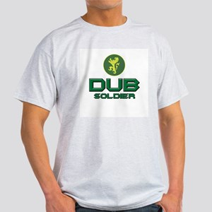 DUB SOLDIER DJ Ash Grey T-Shirt