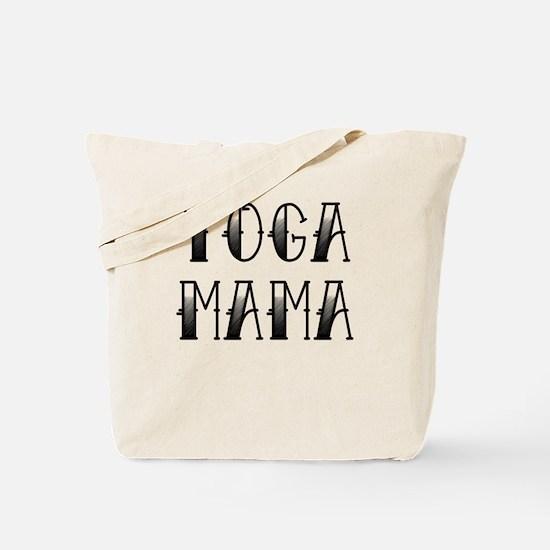 Yoga Mama Tattoo Tote Bag