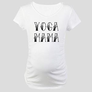 Yoga Mama Tattoo Maternity T-Shirt