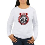 Fight like a girl Women's Long Sleeve T-Shirt