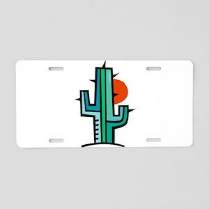 CACTUS_100 Aluminum License Plate