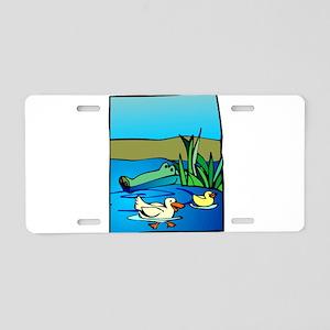 so01228_ Aluminum License Plate
