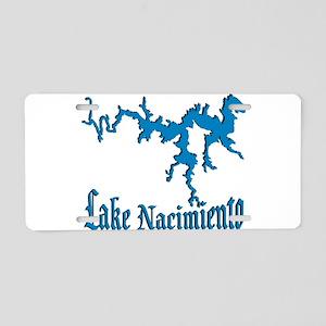 NACI_822_BLUE DK Aluminum License Plate