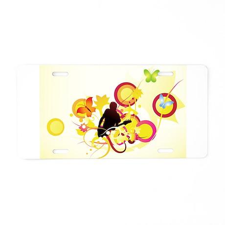 j0433237.jpg Aluminum License Plate