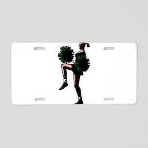 j0298631green Aluminum License Plate