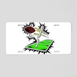 GOALPOST_1 Aluminum License Plate