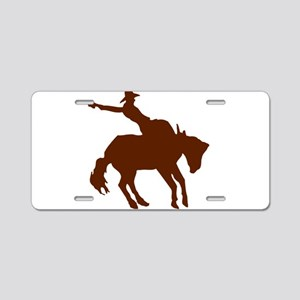 BRONC7 Aluminum License Plate