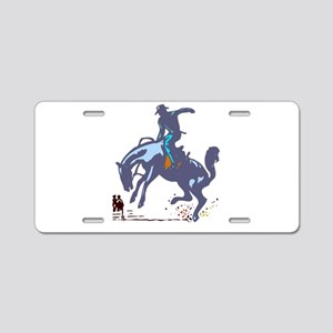 BRONC4 Aluminum License Plate