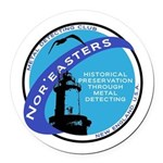 noreaster 2008 Round Car Magnet