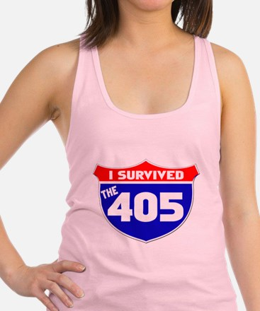 I survived the 405 Racerback Tank Top