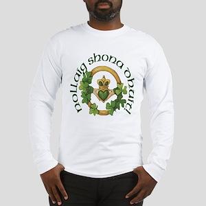 Gaelic Greetings Claddagh Long Sleeve T-Shirt