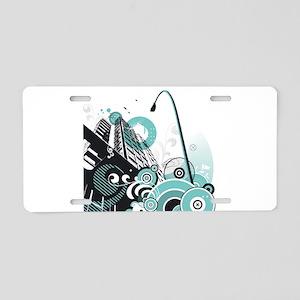 00438390 Aluminum License Plate
