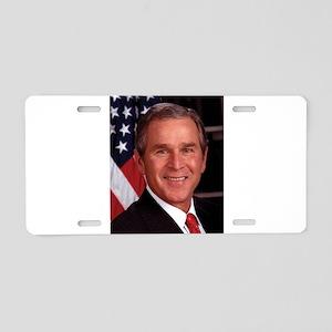 George W. Bush Aluminum License Plate