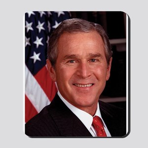 George W. Bush Mousepad