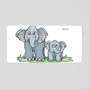 Elephant100 Aluminum License Plate