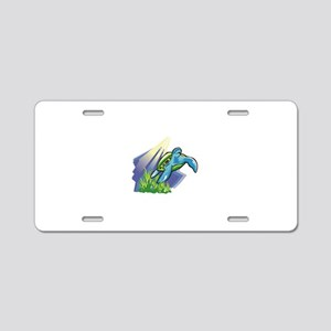 seaturtle001 Aluminum License Plate