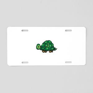 turtle4 Aluminum License Plate