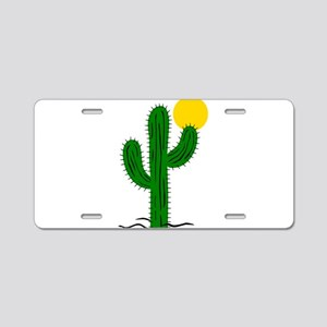 na00726_ Aluminum License Plate
