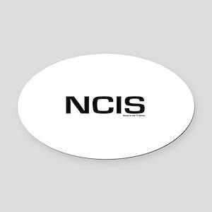 NCIS Oval Car Magnet