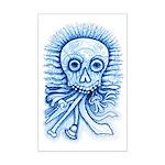 Calaca Dia Muertos Mini Poster Print