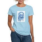 Calaca Dia Muertos Women's Light T-Shirt