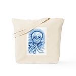 Calaca Dia Muertos Tote Bag