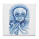 Calaca Dia Muertos Tile Coaster